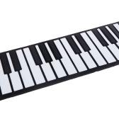 88鍵盤 キーボード ハンドロールピアノ 電子ピアノ ピアノ 軽量 くるくる巻いてコンパクトに収納! USB MIDI電子キーボード  CDとケーブル付き シリコン製 【並行輸入品】
