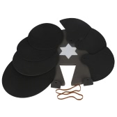 8-Piece Drum Set Silencer Practice Pads Mute with Cymbal Mutes