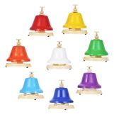Colorful 8 Note Hand Bell Set