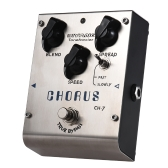 BIYANG CH-7 Tonefacier Series Analog Chorus Guitar Effect Pedal True Bypass Full Metal Shell