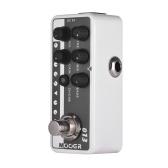 Mooer MICRO PREAMP Serie 013 MATCHBOX Klassischer amerikanischer Digital Preamp Vorverstärker Gitarreneffektpedal Dual Channels 3-Band EQ mit True Bypass