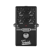 Twinote BOOGIE DISTORTION Analogico Old School Distortion Pedale per effetti a pedale Processsor Full Metal Shell con True Bypass