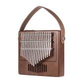 Tom 17-Key Thumb Piano Kalimba Mbira Sanza