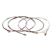 Alice A1000 Full Set (G-D-A-E) Double Bass Strings Steel Core Cupronickel Winding, 4pcs/set