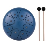 8インチ8トーンスチールタンドラムハンドパンドラムパーカッション楽器