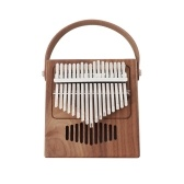 17 Keys Wooden Kalimba African Thumb Finger Piano Mini Kalimba Portable Musical Instrument