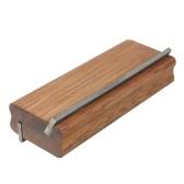 Merbau Log Guitar Fret End Fushing File Инструмент для снятия фаски на ладонной части 35 и 90 градусов Двойного назначения Инструмент для снятия фаски Luthier File Tools