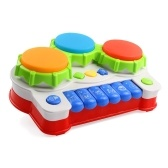 2in1 Musical Keyboard Piano Drum Baby Drum Musical Toy