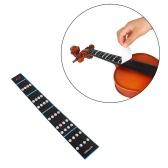 4/4 violín del violín dedo Guía del diapasón etiqueta autoadhesiva de entonación Gráfico diapasón Marcador para principiantes Práctica
