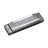 Ammoon H1004 Portable Blues Harmonica