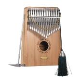 17-klawiszowy Bamboo Kalimba Thumb Piano Mbira Sanza Musical Gift