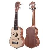 21 calowy akustyczny ukulele Sopran