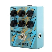 Caline CP-56 Chitarra elettrica Overdrive Distortion Effect Pedal High Gain 3-Band EQ Metal Amplifier Simulazione Alloggiamento in lega di alluminio True Bypass