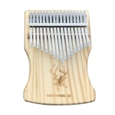 17 Keys Kalimba African Solid Thumb Finger Piano Wood Kalimba Portable Musical Instrument