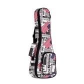 21 Inch Soprano Ukulele Bag Ukelele Uke Backpack Case 8mm Padding
