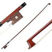 3/4 Violin Fiddle Bow Massivholz Round Stick für Anfänger