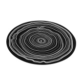 Turntable Platter Mat Annual Ring Pattern for Vinyl Record Players