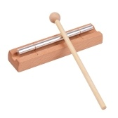 Carrilhões de madeira de um tom com instrumento de percussão com malho