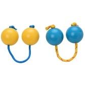 2 Pair Sand Eggs Hand Wrist Rhythm Shaker Percussion Instrument ABS Shell