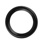 Saxophone Mute Ring Lightweight Saxophone Dampener Protective Ring Silencer Eliminator Ring for Soprano Saxophone