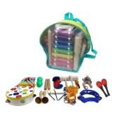 Juego de instrumentos de percusión musical Juego de juguetes musicales