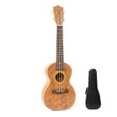 23 pouces enfants imitation bois ukulélé 4 cordes instrument de guitare portable