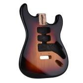 Ammoon корпус электрогитары незаконченный корпус гитары ольха деревянный бочонок электрогитара DIY Запчасти для электрогитары ST