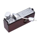 ピアノギターバイオリンウクレレ中国のツィター楽器のためのポータブルミニ機械メトロノームユニバーサルメトロノーム11センチメートル身長ammoon