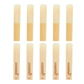 Bb Clarinet Reeds Bamboo Material Strength 2.5, 10pcs/ Box