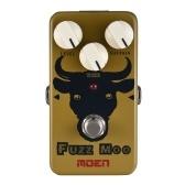 MOEN AM-FZ Fuzz Moo FuzzギターエフェクターペダルTrue Bypassフルメタルシェル