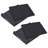 EPP07 Studio Monitor Speaker Acoustic Foam Shockproof Sound Isolation Pads for 6.5 Inches Studio Monitors, 2pcs/ set