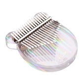 (Rainbow , Bear)17-Key Kalimba Thumb Piano Transparent Acrylic Material
