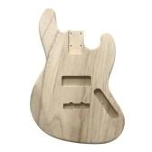 Poliert holz typ e-gitarre barrel diy elektrische ahorn gitarre barrel körper für jb stil bass gitarre