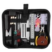 Guitar Repairing Tool Kit Electric Acoustic Guitar Ukulele Repairing Maintenance Cleaning Tool Accessories Kit