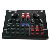Tarjeta de sonido V8X Pro Live 15 efectos de sonido Equipos de grabación de audio