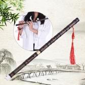 Steckbare Handgemachte Bitter Bambusflöte / Dizi Traditional Chinese Musical Holzblasinstrument in F Key für Anfänger Studienstufe