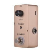 CUVAVE PHASER Analoges Phase-Gitarren-Effektpedal Zinklegierung Shell True Bypass