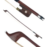 French Style Bows for Size 4/4 Double Bass Brazilwood Bow Horsehair Bow Hair Great Balance Point Orchestral Strings Accessories