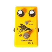 Overdrive Guitar Effect Pedal High Gain for Electric Guitar Bass String Instrument