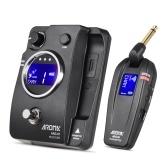 AROMA ARG-07ギターワイヤレス伝送システム(トランスミッター&レシーバー)