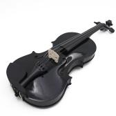 4/4 violon acoustique en bois professionnel violon en bois massif débutants violon basswood corps violon Instrument à cordes