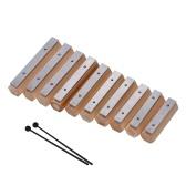 Muslady 10 Notes Xylophone Glockenspiel Instrument de percussion de conception de type Disconnect