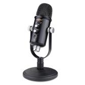 vxmba Настольный микрофон Многоцелевой конденсаторный USB-микрофон