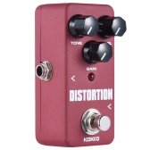 KOKKO FDS2 Mini Distortion Pedal Portable Gitarre Effektpedal