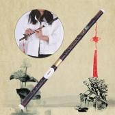 Bambusowe bambusowe Bawu Ba Wu Poprzeczny Flet instrument muzyczny w G klucz dla początkujących miłośników muzyki