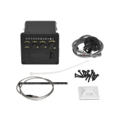 2-Band EQ Acoustic Guitar Piezo Pickup System with Tuner Function