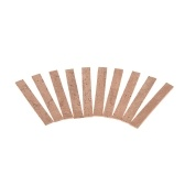 10pcs Clarinet Neck Joint Cork Sheet Wind Instrument Repair Maintenance Accessories