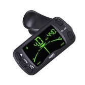 TM-25 Clip-on Electric Tuner Metronome Guitar Bass Violin Ukulele Universal Multifunction Portable Tuner