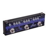Rowin DAP-2 Гитарная педаль эффектов 3 в 1 Echo + Ensemble + Overdrive Корпус из алюминиевого сплава с функцией True Bypass