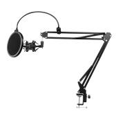 D8 Support de micro Support de bras de suspension de microphone réglable